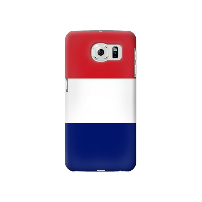 Printed Flag of France and the Netherlands Samsung Galaxy S6 Case