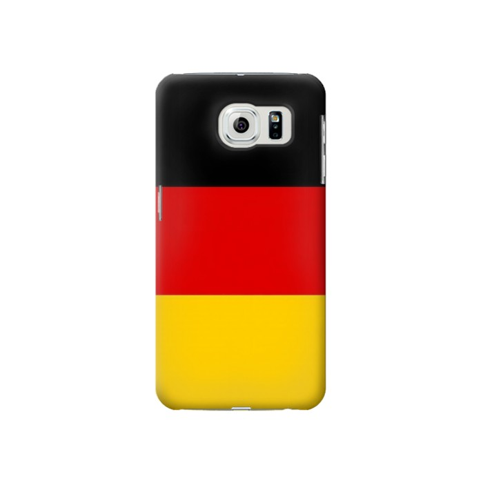 Printed Flag of Germany Samsung Galaxy S6 Case