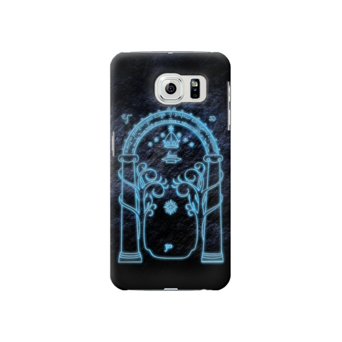 Printed Lord of The Rings Mines of Moria Gate Samsung Galaxy S6 Case