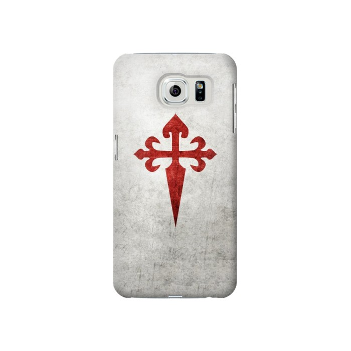 Printed Order of Santiago Cross of Saint James Samsung Galaxy S6 Case