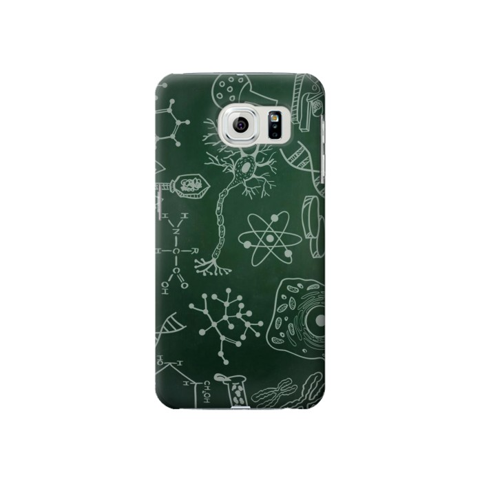 Printed Science Green Board Samsung Galaxy S6 Case