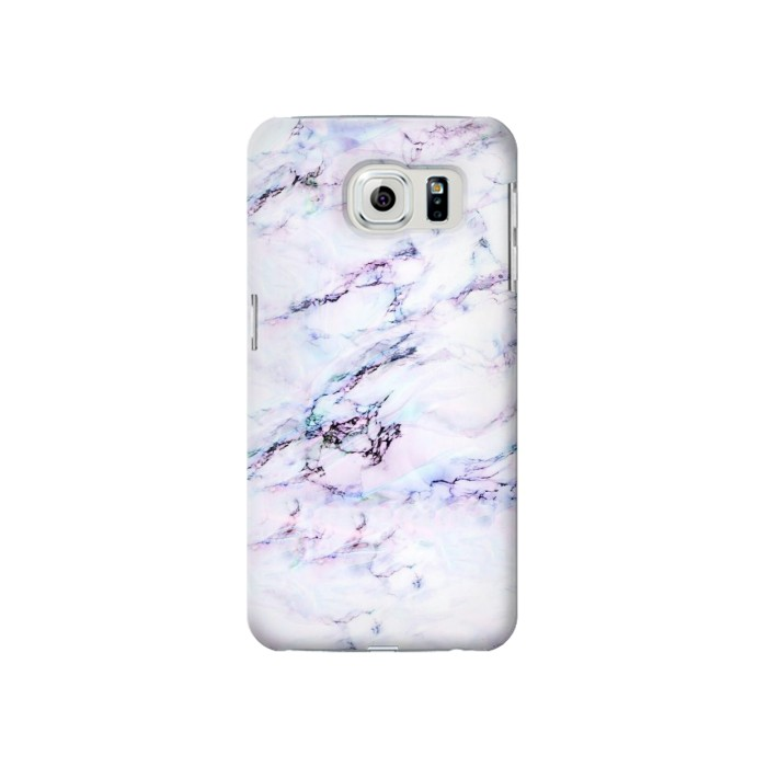 Printed Seamless Pink Marble Samsung Galaxy S6 Case