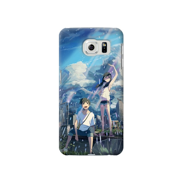 Printed Weathering With You Tenki No Ko Samsung Galaxy S6 Case