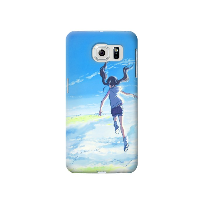 Printed Weathering With You Amano Hina Samsung Galaxy S6 Case