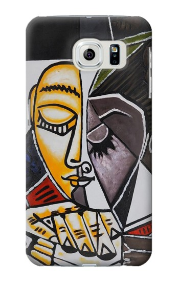 Printed Pablo Picasso Painting Samsung Galaxy S6 Case