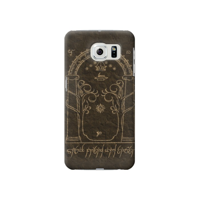 Printed Durin Door The Lord of The Rings Samsung Galaxy S6 Case