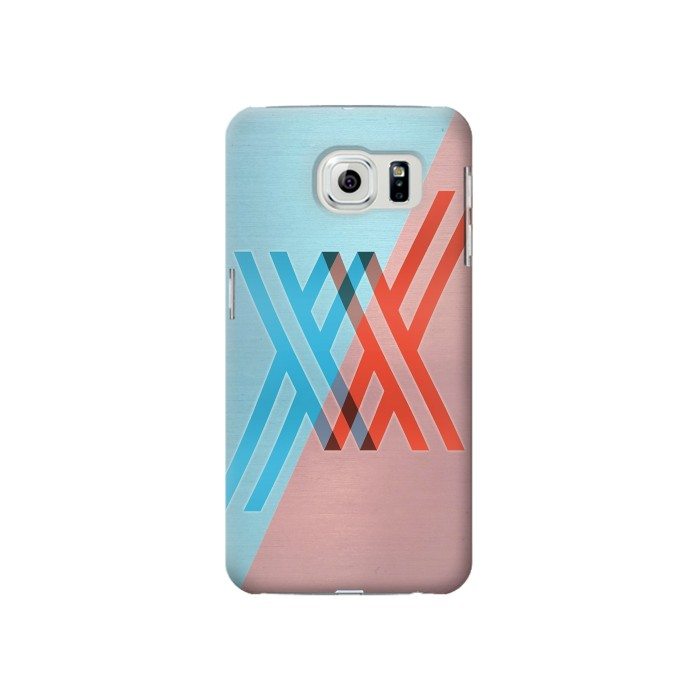 Printed Darling in the Franxx Samsung Galaxy S6 Case