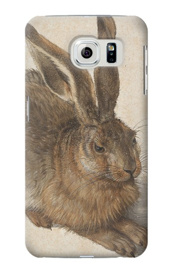 Printed Albrecht Durer Young Hare Samsung Galaxy S6 Case