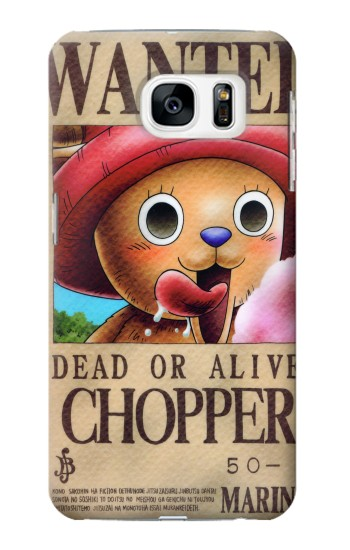 Printed One Piece CHOPPER Wanted Poster Samsung Galaxy S7 Case