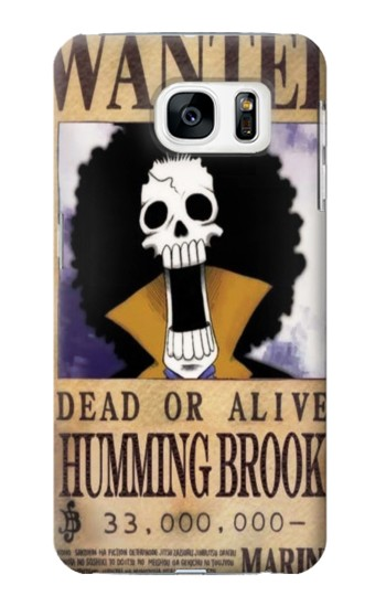 Printed One Piece Humming Brook Wanted Poster Samsung Galaxy S7 Case