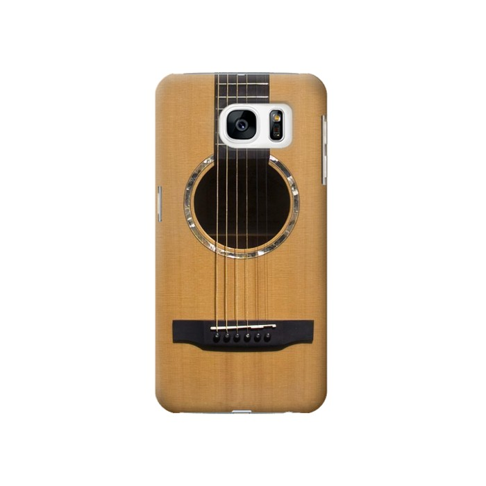 Printed Acoustic Guitar Samsung Galaxy S7 Case