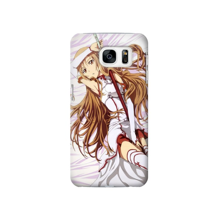 Printed Sword Art Online Asuna Samsung Galaxy S7 Case