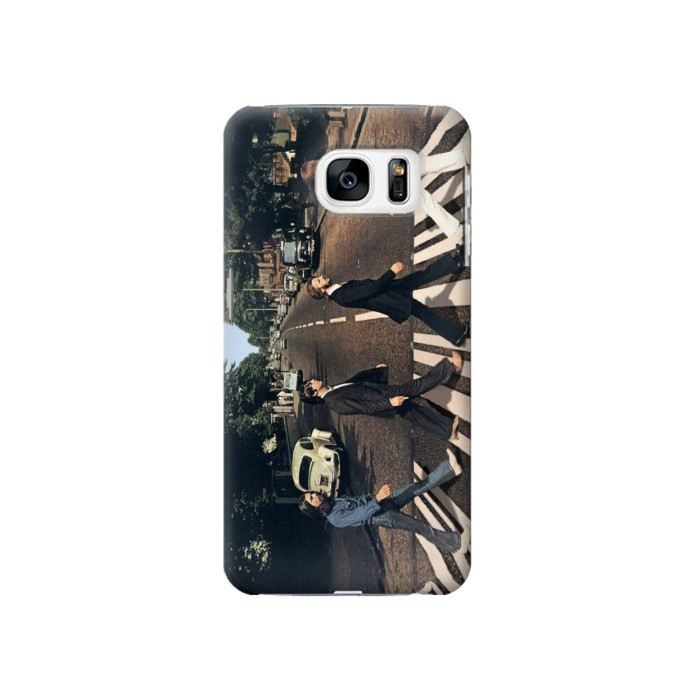 Printed The Beatles Abbey Road Samsung Galaxy S7 Case