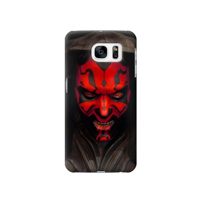 Printed Darth Maul Samsung Galaxy S7 Case