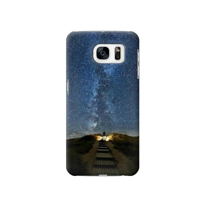 Printed Stairway to Heaven Iceland Samsung Galaxy S7 Case