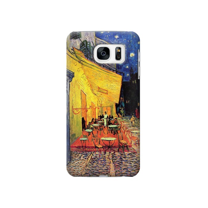 Printed Van Gogh Cafe Terrace Samsung Galaxy S7 Case