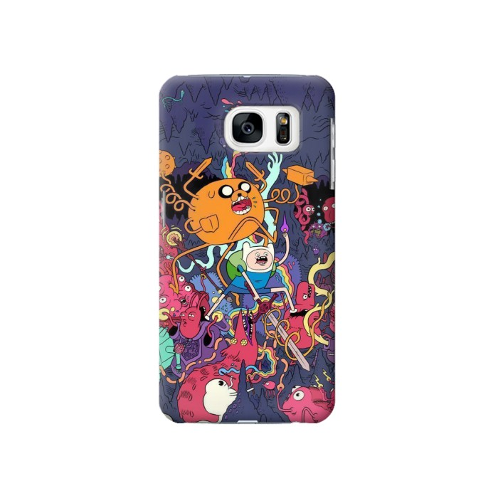 Printed Adventure Time Samsung Galaxy S7 Case