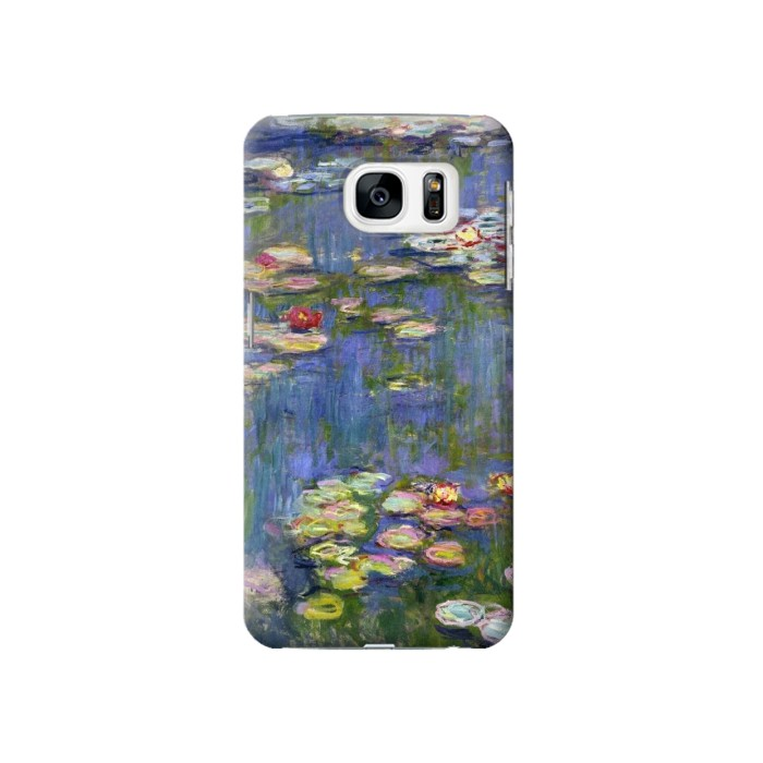 Printed Claude Monet Water Lilies Samsung Galaxy S7 Case