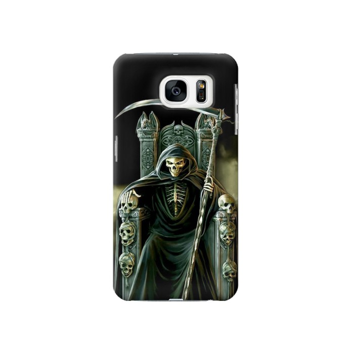 Printed Grim Reaper Skeleton King Samsung Galaxy S7 Case