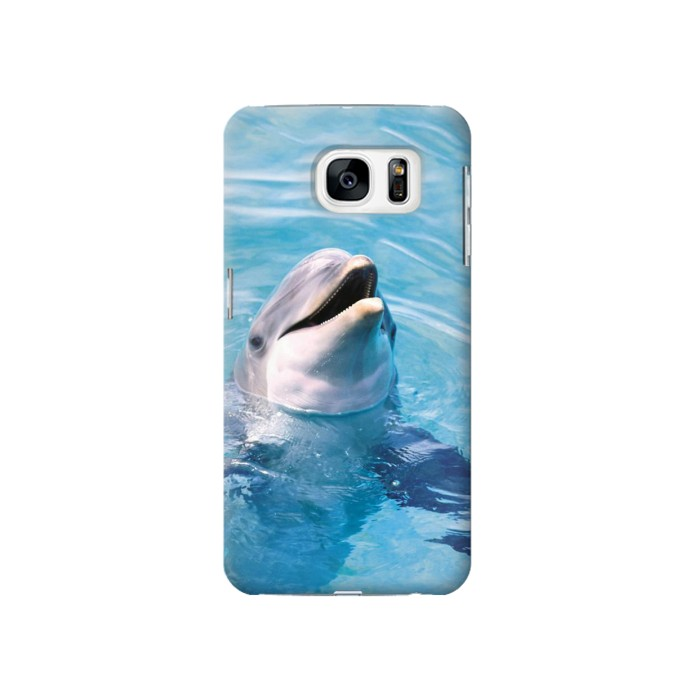 Printed Dolphin Samsung Galaxy S7 Case