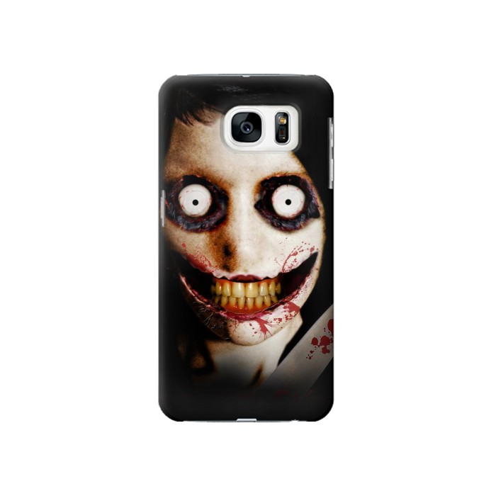 Printed Jeff the Killer Samsung Galaxy S7 Case