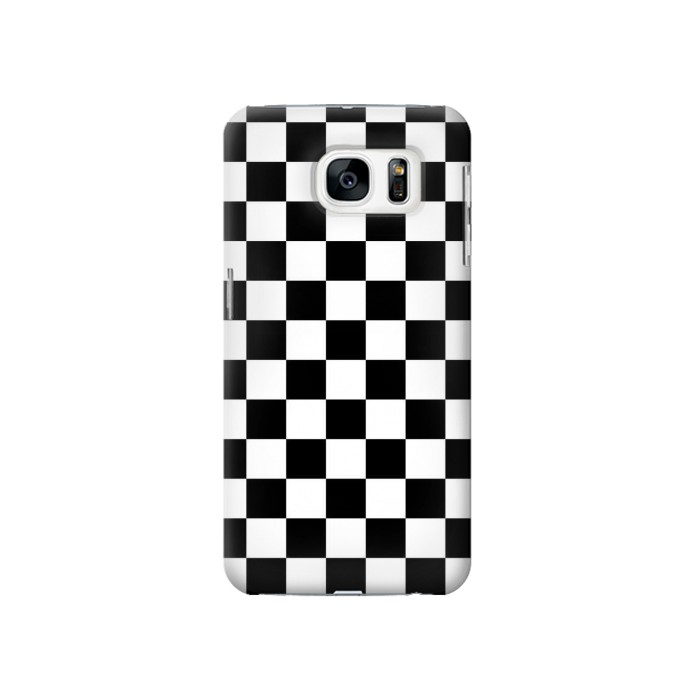 Printed Checkerboard Chess Board Samsung Galaxy S7 Case