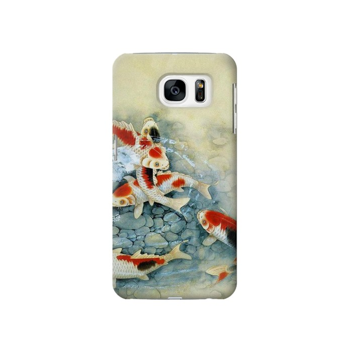 Printed Koi Carp Fish Art Painting Samsung Galaxy S7 Case