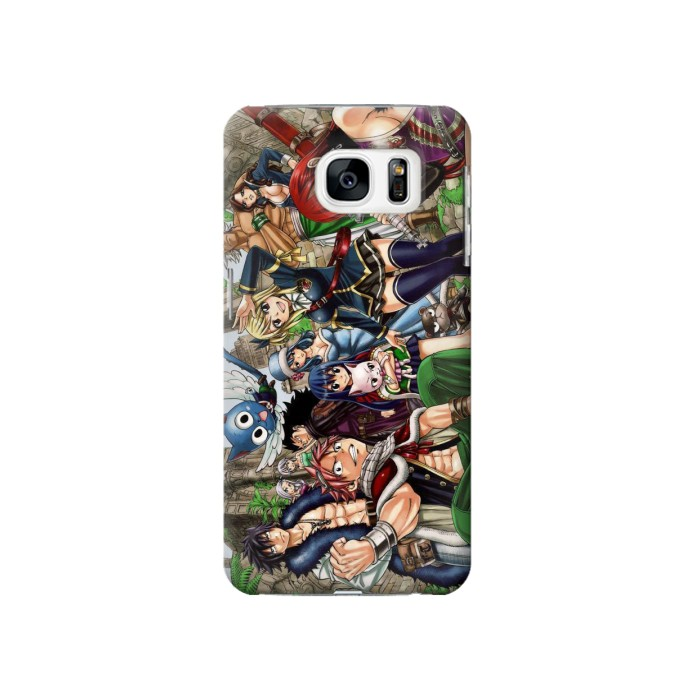 Printed Fairy Tail Guild Members Samsung Galaxy S7 Case