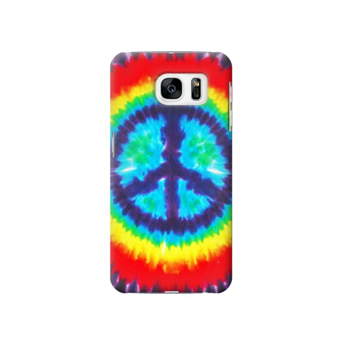 Printed Tie Dye Peace Samsung Galaxy S7 Case