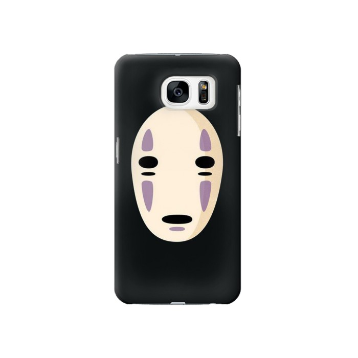 Printed Spirited Away No Face Samsung Galaxy S7 Case