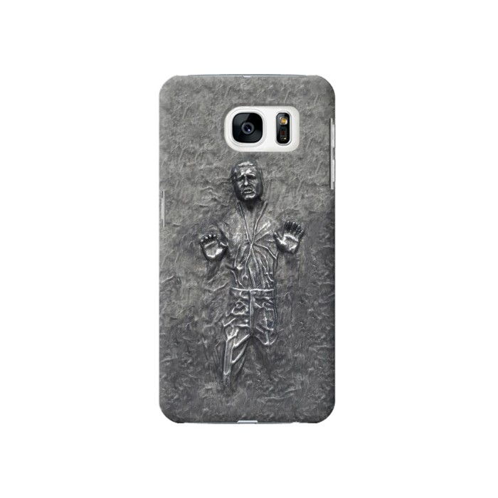 Printed Han Solo in Carbonite Samsung Galaxy S7 Case