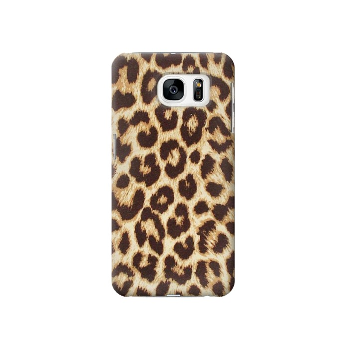 Printed Leopard Pattern Graphic Printed Samsung Galaxy S7 Case