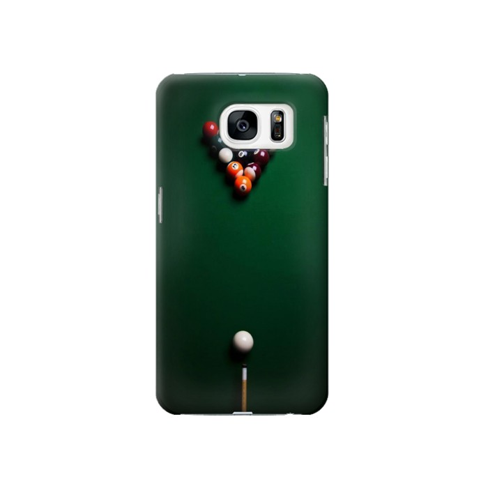 Printed Billiard Pool Samsung Galaxy S7 Case