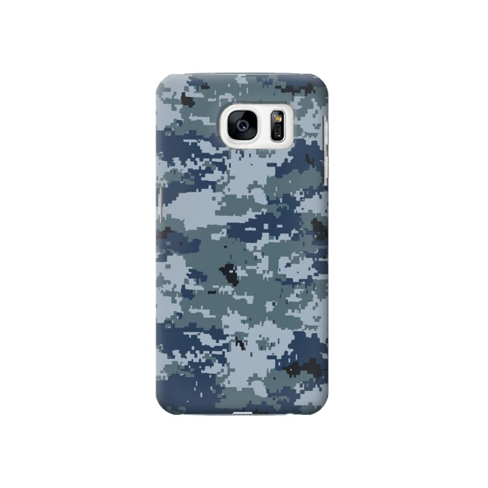 Printed Navy Camo Camouflage Graphic Samsung Galaxy S7 Case