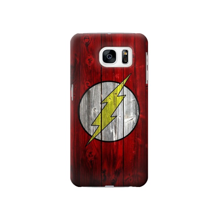 Printed Thunder Speed Flash Minimalist Samsung Galaxy S7 Case
