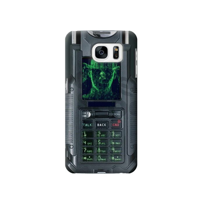 Printed The Matrix Mobile Phone Graphic Printed Samsung Galaxy S7 Case