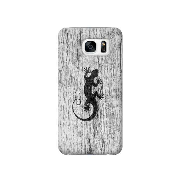 Printed Gecko Wood Graphics Printed Samsung Galaxy S7 Case