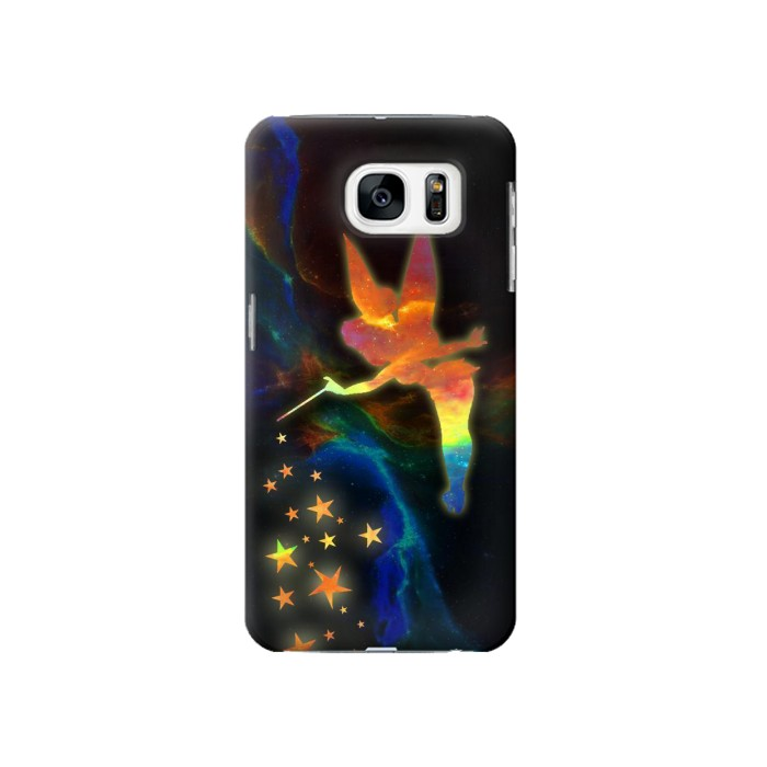 Printed Tinkerbell Magic Sparkle Samsung Galaxy S7 Case