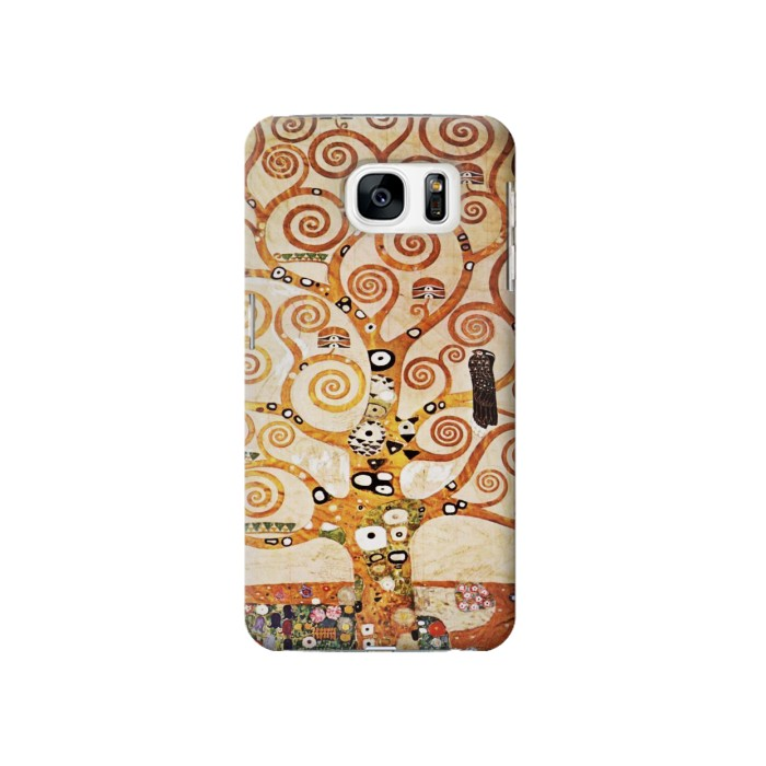 Printed The Tree of Life Gustav Klimt Samsung Galaxy S7 Case