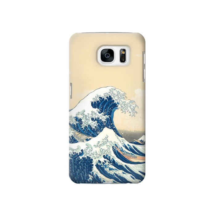 Printed Under the Wave off Kanagawa Samsung Galaxy S7 Case