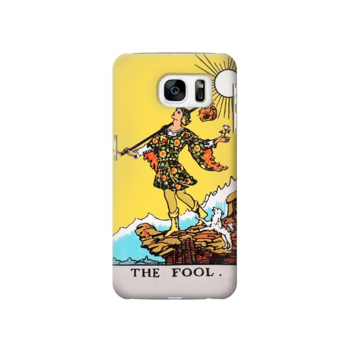 Printed Tarot Card The Fool Samsung Galaxy S7 Case