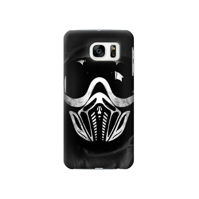 Printed Paintball Mask Samsung Galaxy S7 Case