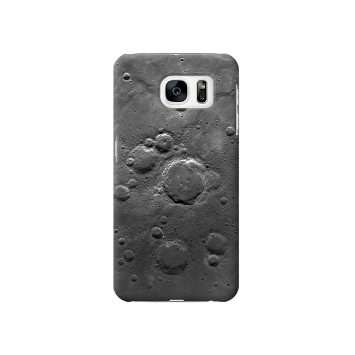 Printed Moon Surface Samsung Galaxy S7 Case