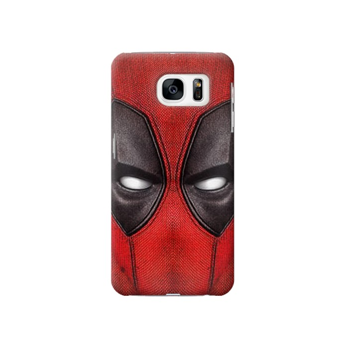 Printed Deadpool Mask Samsung Galaxy S7 Case