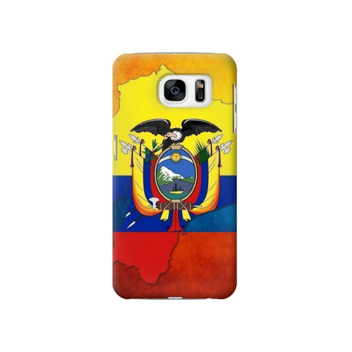 Printed Ecuador Flag Samsung Galaxy S7 Case