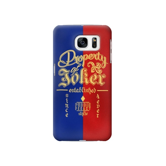 Printed Property of Joker Puddin Freaky Style Samsung Galaxy S7 Case