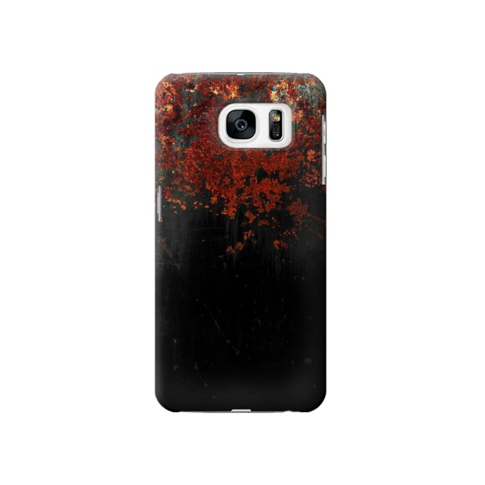 Printed Rusted Metal Texture Samsung Galaxy S7 Case