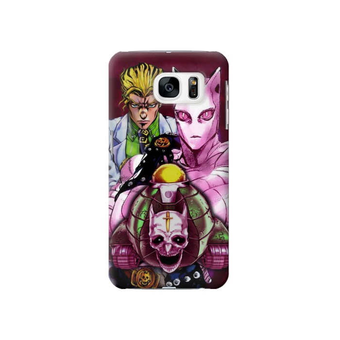 Printed Jojo Bizarre Adventure Kira Yoshikage Killer Queen Samsung Galaxy S7 Case