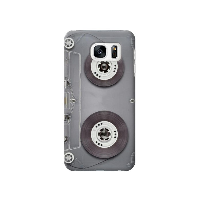 Printed Cassette Tape Samsung Galaxy S7 Case