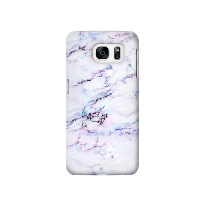 Printed Seamless Pink Marble Samsung Galaxy S7 Case